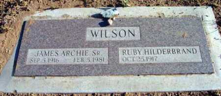 WILSON, RUBY - Yavapai County, Arizona | RUBY WILSON - Arizona Gravestone Photos