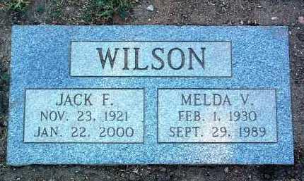 WILSON, MELDA V. - Yavapai County, Arizona | MELDA V. WILSON - Arizona Gravestone Photos