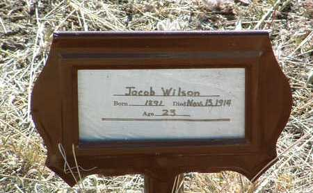 WILSON, JACOB - Yavapai County, Arizona | JACOB WILSON - Arizona Gravestone Photos