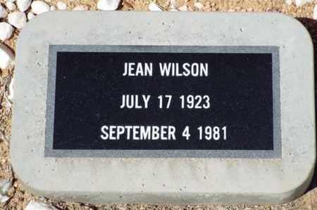 WILSON, JEAN - Yavapai County, Arizona   JEAN WILSON - Arizona Gravestone Photos