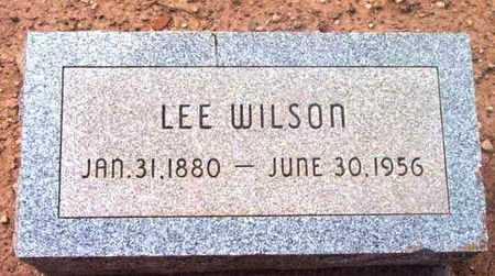 WILSON, LEE - Yavapai County, Arizona | LEE WILSON - Arizona Gravestone Photos