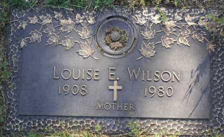 WILLIS WILSON, LOUISE E. - Yavapai County, Arizona | LOUISE E. WILLIS WILSON - Arizona Gravestone Photos