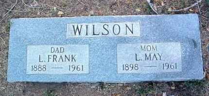WILSON, LUTHER FRANKLIN - Yavapai County, Arizona | LUTHER FRANKLIN WILSON - Arizona Gravestone Photos