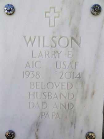 WILSON, LARRY EUGENE (NICK) - Yavapai County, Arizona | LARRY EUGENE (NICK) WILSON - Arizona Gravestone Photos