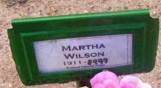 WILSON, MARTHA L. - Yavapai County, Arizona   MARTHA L. WILSON - Arizona Gravestone Photos