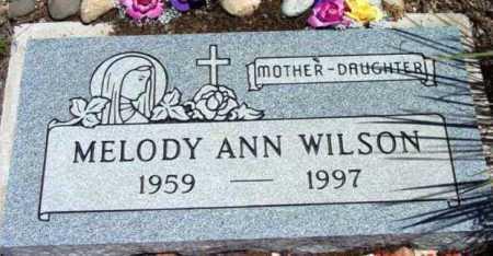 WILSON, MELODY ANN - Yavapai County, Arizona   MELODY ANN WILSON - Arizona Gravestone Photos