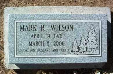 WILSON, MARK R. - Yavapai County, Arizona   MARK R. WILSON - Arizona Gravestone Photos