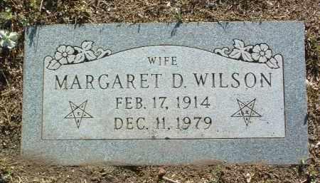 WILSON, MARGARET D. - Yavapai County, Arizona | MARGARET D. WILSON - Arizona Gravestone Photos