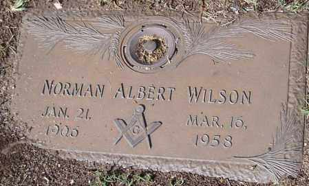 WILSON, NORMAN ALBERT - Yavapai County, Arizona | NORMAN ALBERT WILSON - Arizona Gravestone Photos