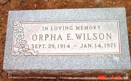 WILSON, ORPHA F. - Yavapai County, Arizona   ORPHA F. WILSON - Arizona Gravestone Photos
