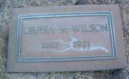 WILSON, ORPHA MAY - Yavapai County, Arizona | ORPHA MAY WILSON - Arizona Gravestone Photos