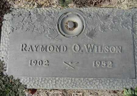 WILSON, RAYMOND OTTO - Yavapai County, Arizona   RAYMOND OTTO WILSON - Arizona Gravestone Photos
