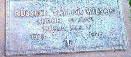 WILSON, RUSSELL TAYLOR - Yavapai County, Arizona | RUSSELL TAYLOR WILSON - Arizona Gravestone Photos