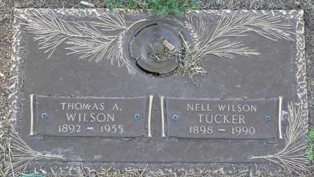 WILSON, THOMAS A. - Yavapai County, Arizona | THOMAS A. WILSON - Arizona Gravestone Photos