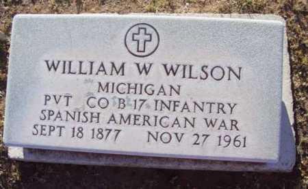 WILSON, WILLIAM WALLACE - Yavapai County, Arizona   WILLIAM WALLACE WILSON - Arizona Gravestone Photos