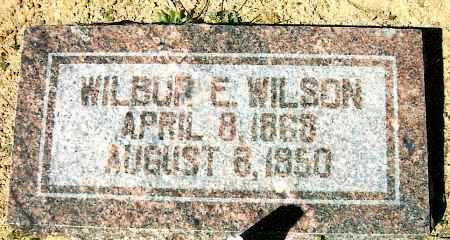 WILSON, WILBUR E. - Yavapai County, Arizona | WILBUR E. WILSON - Arizona Gravestone Photos