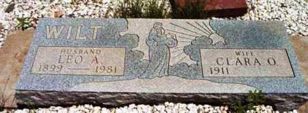 WILT, LEO A. - Yavapai County, Arizona | LEO A. WILT - Arizona Gravestone Photos