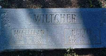 WILTCHER, MCCLELLAN - Yavapai County, Arizona | MCCLELLAN WILTCHER - Arizona Gravestone Photos