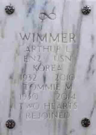 WIMMER, TOMMIE M. - Yavapai County, Arizona | TOMMIE M. WIMMER - Arizona Gravestone Photos