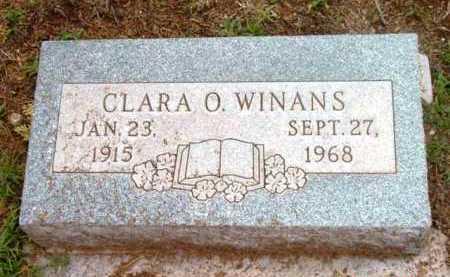 WINANS, CLARA OPAL - Yavapai County, Arizona | CLARA OPAL WINANS - Arizona Gravestone Photos