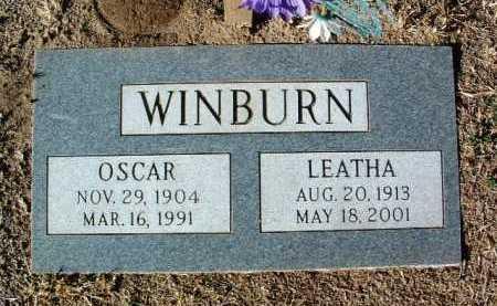 JONES WINBURN, LETHA NORA - Yavapai County, Arizona   LETHA NORA JONES WINBURN - Arizona Gravestone Photos