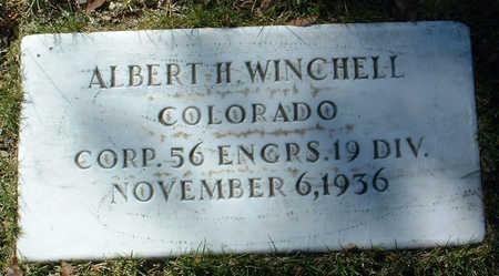 WINCHELL, ALBERT H. - Yavapai County, Arizona   ALBERT H. WINCHELL - Arizona Gravestone Photos