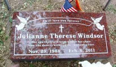 WINDSOR, JULIANNE THERESE - Yavapai County, Arizona | JULIANNE THERESE WINDSOR - Arizona Gravestone Photos