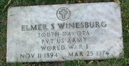 WINESBURG, ELMER S. - Yavapai County, Arizona | ELMER S. WINESBURG - Arizona Gravestone Photos