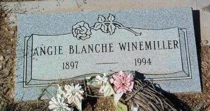 WINEMILLER, ANGIE BLANCHE - Yavapai County, Arizona | ANGIE BLANCHE WINEMILLER - Arizona Gravestone Photos