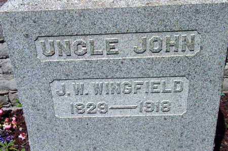 WINFIELD, JOHN WESLEY - Yavapai County, Arizona | JOHN WESLEY WINFIELD - Arizona Gravestone Photos