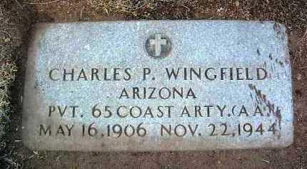 WINGFIELD, CHARLES PAUL - Yavapai County, Arizona | CHARLES PAUL WINGFIELD - Arizona Gravestone Photos