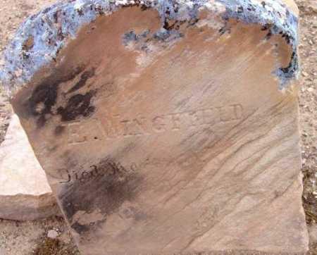WINGFIELD, EDWARD M. - Yavapai County, Arizona | EDWARD M. WINGFIELD - Arizona Gravestone Photos