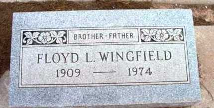 WINGFIELD, FLOYD LEONARD - Yavapai County, Arizona | FLOYD LEONARD WINGFIELD - Arizona Gravestone Photos