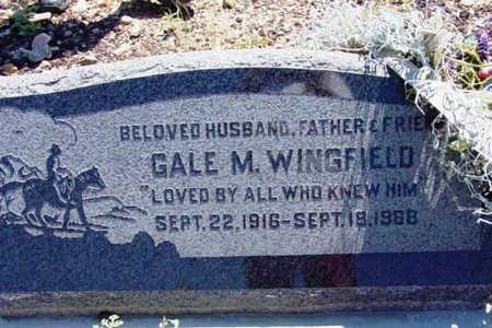 WINGFIELD, GAIL MARTIN - Yavapai County, Arizona | GAIL MARTIN WINGFIELD - Arizona Gravestone Photos