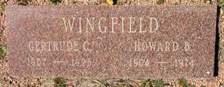WINGFIELD, GERTRUDE VIOLET - Yavapai County, Arizona | GERTRUDE VIOLET WINGFIELD - Arizona Gravestone Photos