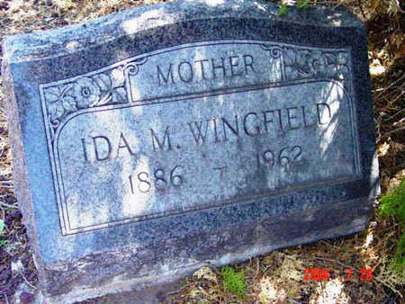 WINGFIELD, IDA MAY - Yavapai County, Arizona   IDA MAY WINGFIELD - Arizona Gravestone Photos