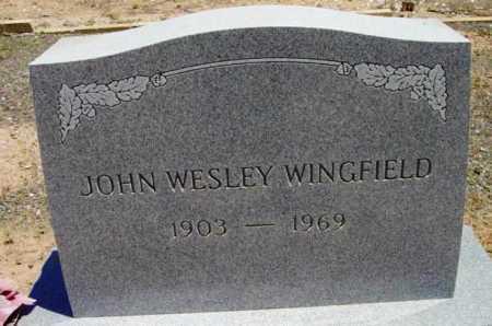 WINGFIELD, JOHN WESLEY - Yavapai County, Arizona | JOHN WESLEY WINGFIELD - Arizona Gravestone Photos