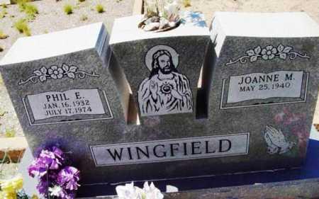 WINGFIELD, PHILLIP EDWARD - Yavapai County, Arizona | PHILLIP EDWARD WINGFIELD - Arizona Gravestone Photos