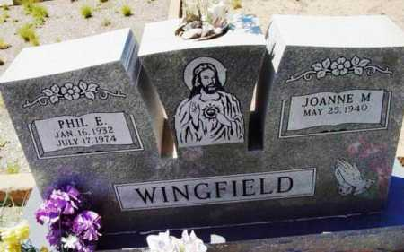 WINGFIELD, PHILLIP EDWARD - Yavapai County, Arizona | PHILLIP EDWARD WINGFIELD - Arizona Gravestone Photos