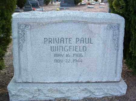 WINGFIELD, PAUL CHARLES - Yavapai County, Arizona | PAUL CHARLES WINGFIELD - Arizona Gravestone Photos