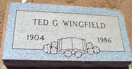 WINGFIELD, THEODORE G. - Yavapai County, Arizona | THEODORE G. WINGFIELD - Arizona Gravestone Photos
