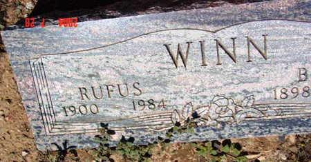 WINN, RUFUS - Yavapai County, Arizona   RUFUS WINN - Arizona Gravestone Photos