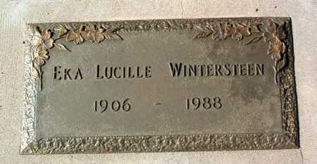 WINTERSTEEN, EKA LUCILLE - Yavapai County, Arizona | EKA LUCILLE WINTERSTEEN - Arizona Gravestone Photos