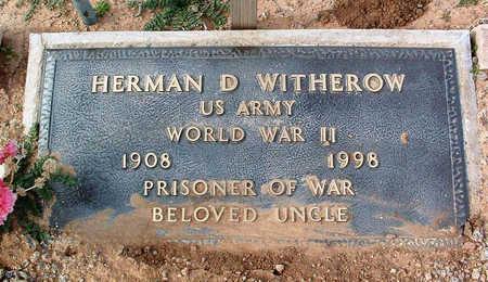 WITHEROW, HERMAN D. - Yavapai County, Arizona   HERMAN D. WITHEROW - Arizona Gravestone Photos