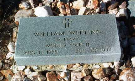 WITTING, WILLIAM - Yavapai County, Arizona | WILLIAM WITTING - Arizona Gravestone Photos