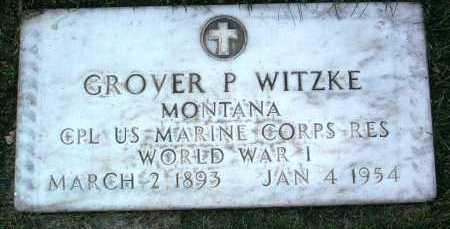 WITZKE, GROVER PRESTON - Yavapai County, Arizona   GROVER PRESTON WITZKE - Arizona Gravestone Photos