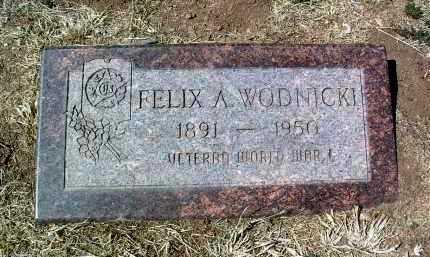 WODNICKI, FELIX A. - Yavapai County, Arizona | FELIX A. WODNICKI - Arizona Gravestone Photos