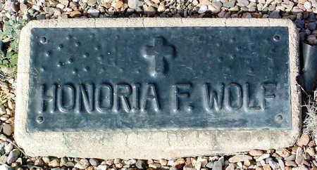 FOLEY WOLF, HONORIA / ELINOR (NORA) - Yavapai County, Arizona | HONORIA / ELINOR (NORA) FOLEY WOLF - Arizona Gravestone Photos