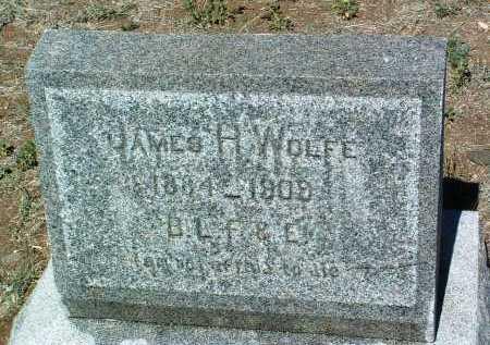 WOLFE, JAMES HENRY - Yavapai County, Arizona | JAMES HENRY WOLFE - Arizona Gravestone Photos