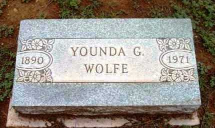 WOLFE, YOUNDA GERTRUDE - Yavapai County, Arizona | YOUNDA GERTRUDE WOLFE - Arizona Gravestone Photos